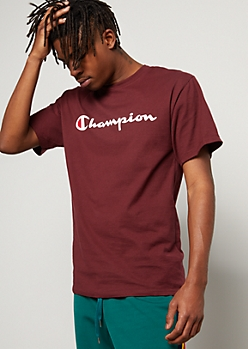 Champion Burgundy Graphic Tee