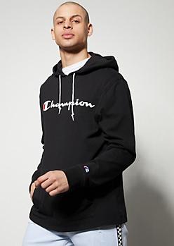 Champion Black Lightweight Hoodie