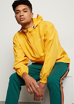 Champion Yellow Bungee Pocket Windbreaker
