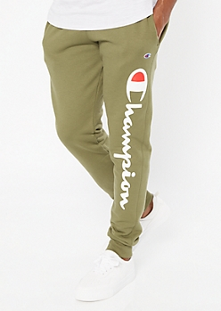 Champion Olive Fleece Joggers