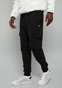 Champion Black Fleece Joggers
