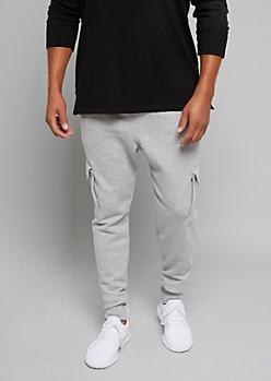 Champion Heather Gray Fleece Joggers