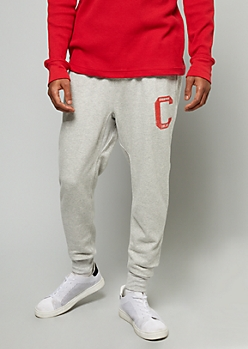 Champion 1919 Gray Graphic Fleece Joggers