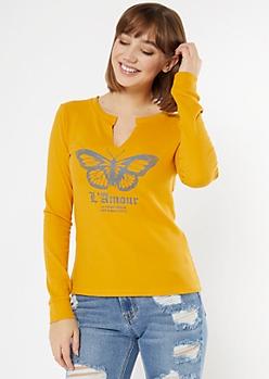 Mustard Butterfly L