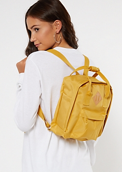 Mustard Mini Backpack