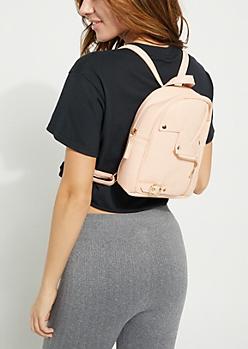 Pink Moto Mini Backpack