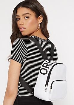 White Original Mini Backpack