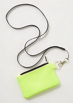 Neon Yellow Lanyard