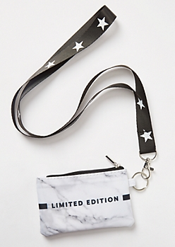 Gray Marbled Limited Edition Lanyard