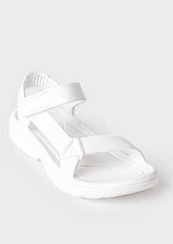 White Waterproof Sport Sandals