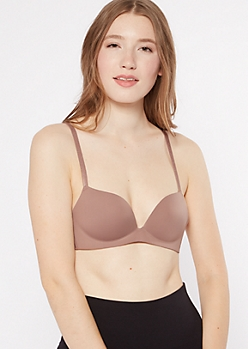 Rosewood Wire Free Push Up Bra