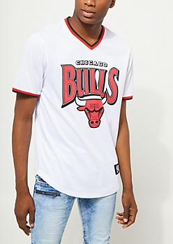 Chicago Bulls Mesh V-Neck Tee
