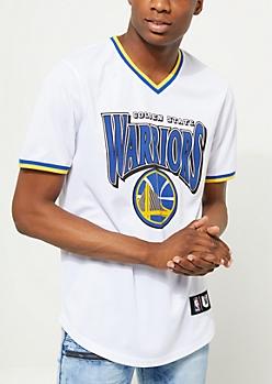 Golden State Warriors Mesh V-Neck Tee