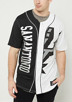 San Antonio Spurs Split Jersey