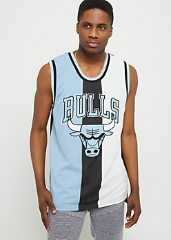 NBA Chicago Bulls Blue Tricolor Tank Top