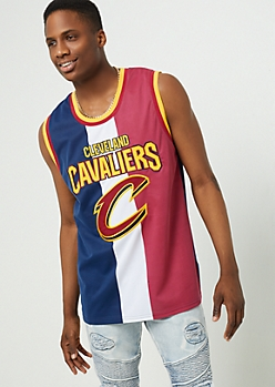 Cleveland Cavaliers Tricolor Mesh Tank Top