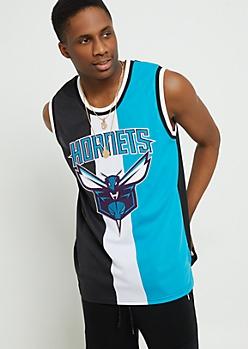 Charlotte Hornets Tricolor Mesh Tank Top