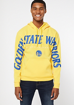NBA Golden State Warriors Yellow Hoodie