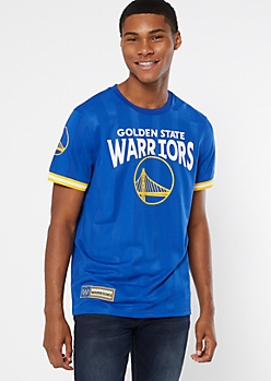NBA Golden State Warriors Blue Jersey Tee