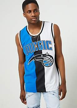 Orlando Magic Tricolor Mesh Tank Top