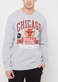 Chicago Bulls Mixed Logo Sweatshirt