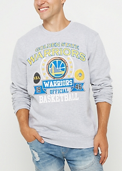 Golden State Warriors Mixed Logo Sweatshirt