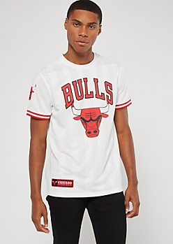 NBA Chicago Bulls White Jersey Tee