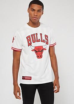 NBA Chicago Bulls White Jersey Tee