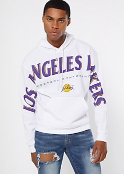 NBA Los Angeles Lakers White Hoodie