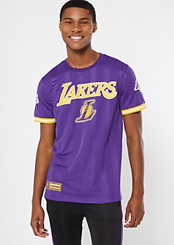NBA Los Angeles Lakers Purple Jersey Tee