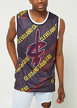 Cleveland Cavaliers Printed Mesh Tank Top