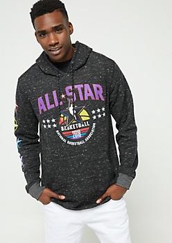 Black NBA All Star Hoodie