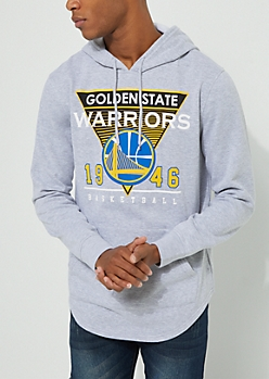 Golden State Warriors Drop Tail Fleece Hoodie