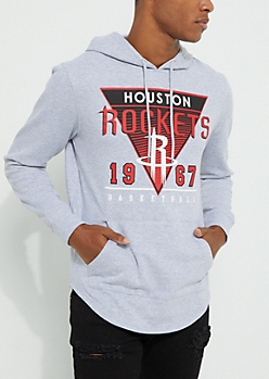 Houston Rockets Drop Tail Fleece Hoodie