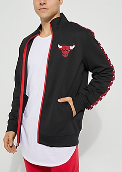 Chicago Bulls Black Track Jacket