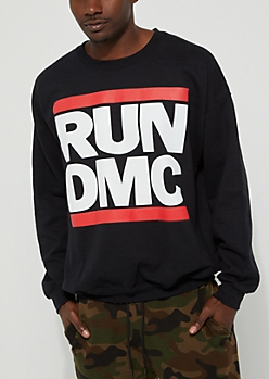 Run DMC Logo Sweatshirt