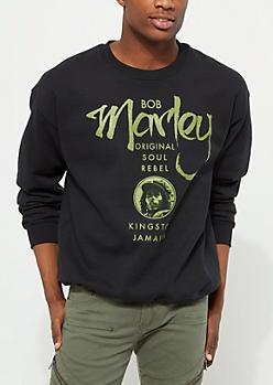 Black Bob Marley OG Sweatshirt