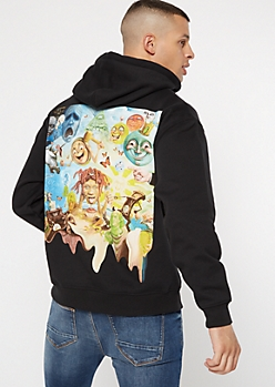 Black Lifes A Trip Trippie Redd Graphic Hoodie