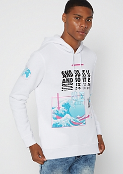 White Force of Nature Hoodie