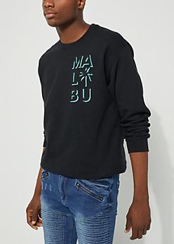 Black Malibu Sweatshirt
