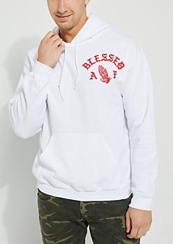Blessed AF Red Hoodie
