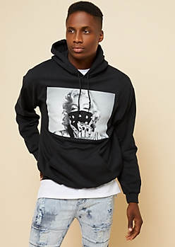 Black Diamond Marilyn Monroe Hoodie