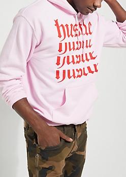 Pink Hustle Echo Hoodie