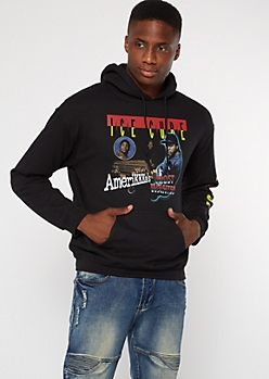 Black Ice Cube Most Wanted Graphic Hoodie
