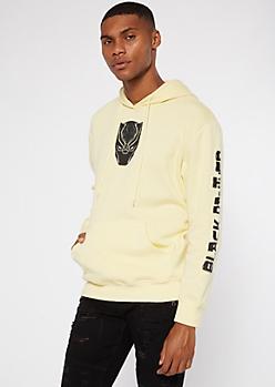 Cream Black Panther Hoodie