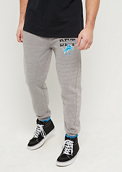 Detroit Lions Logo Fleece Joggers