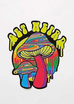Get Weird Sticker