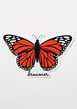 Dreamer Butterfly Sticker