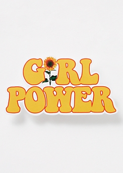 Retro Girl Power Sticker