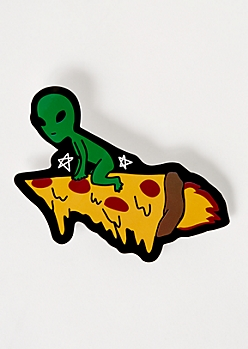 Alien Pizza Sticker